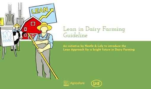'Lean in dairy farming':