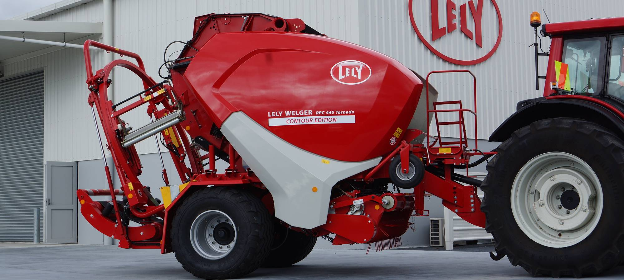 Lely's newest variable chamber round baler stands out from the crowd
