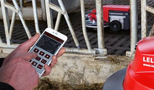 Controle múltiples productos de Lely con su iPhone