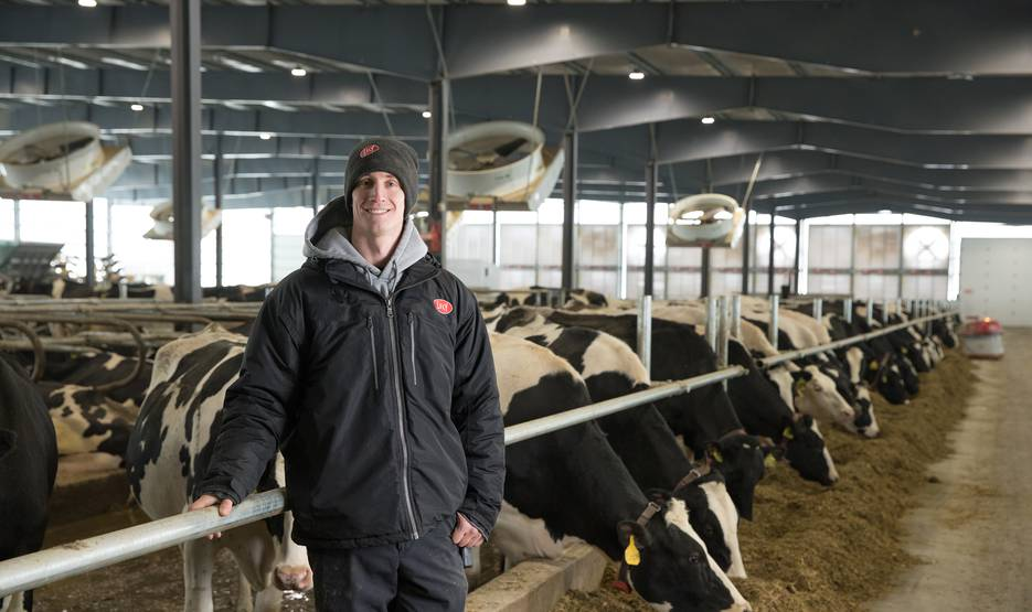 Lely Robots Provide Sustainability for Miltrim Farms Inc.