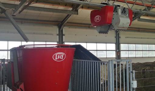 Automatic feed system optimised further