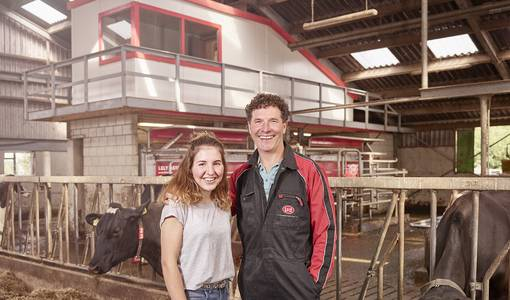 Lely celebrates 25 years of robotic milking with the anniversary action 'Celebrate Generations'