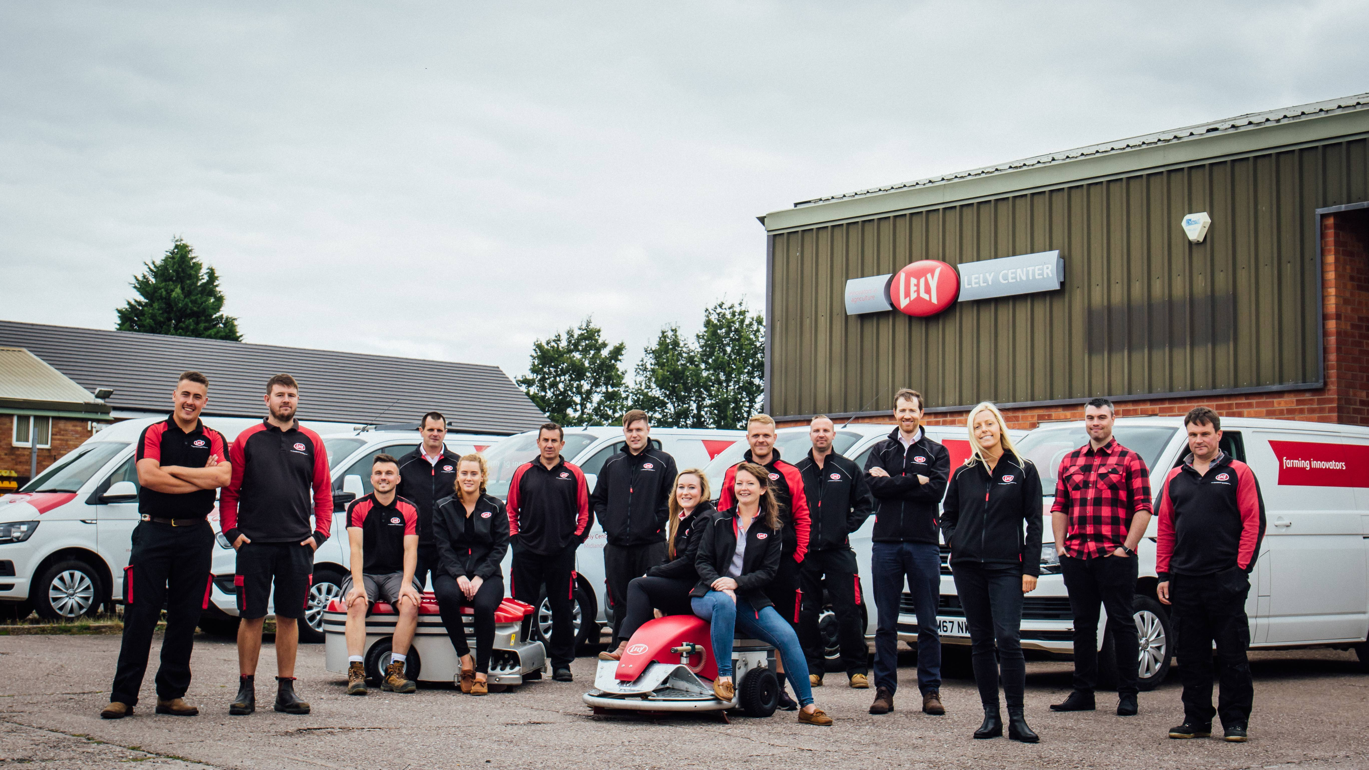 Lely Center Midlands are your local automated milking and feeding experts