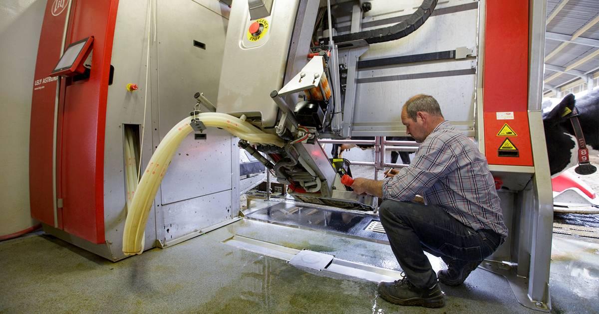barn automation milking robot maintenance lely. Black Bedroom Furniture Sets. Home Design Ideas