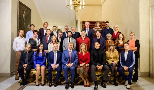 Alexander van der Lely invited for lunch with King Willem-Alexander and Queen Máxima