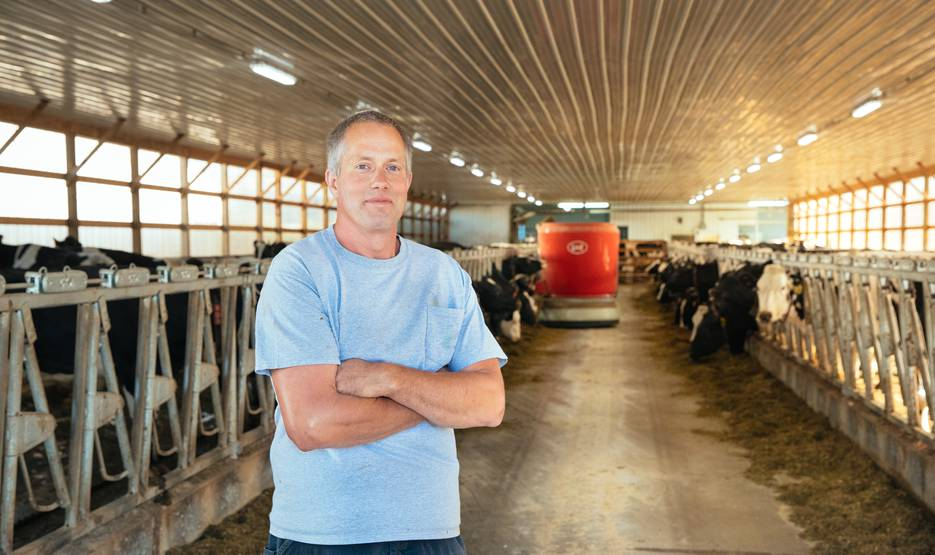 Automated Feeding and Milking Make Life on Rein Farms Easier
